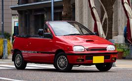 愛娘が18年所有する愛車は父親も魅了した。1991年式ダイハツ リーザスパイダー(L111SK型)