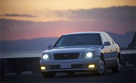 生産から20年後も色褪せない愛車との別れを決意。1999年式トヨタ セルシオ B仕様(UCF20型)