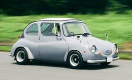 9年の眠りから目覚めた愛車はシングルナンバー。1968年式スバル360スタンダード(K111型)