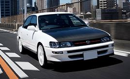 生産台数10台。親子2代で26年間所有する1994年式 トヨタ TRD2000(AE101改型)