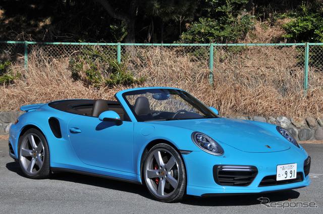 ポルシェ 911ターボ カブリオレ