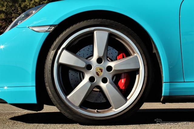 ポルシェ 911ターボカブリオレ