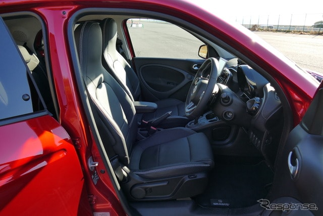 スマートブラバス フォーフォー Xclusive red limited