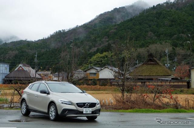 兵庫・篠山の景観保護地区付近にて。