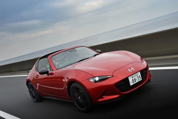 【試乗記】マツダ・ロードスターRF RS(FR/6MT)/ロードスターRF VS(FR/6AT)