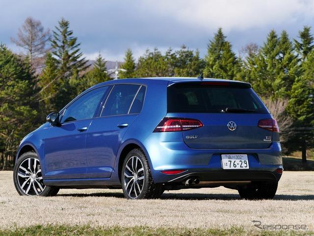 VW ゴルフ コネクト