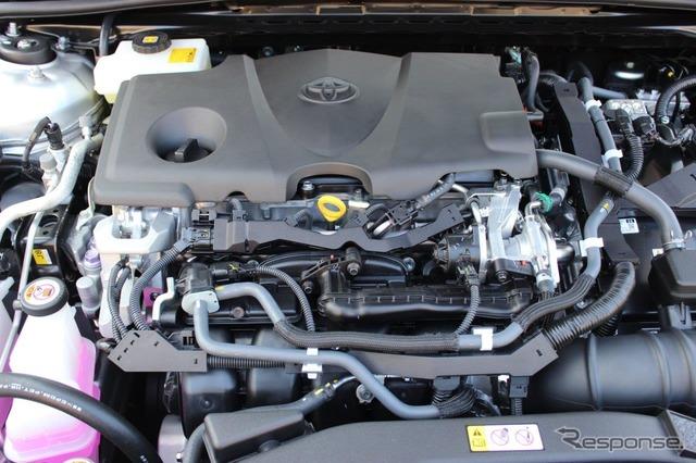 2.5Lハイブリッドエンジンは静粛性が高く、一般道ではEV走行が多くなった