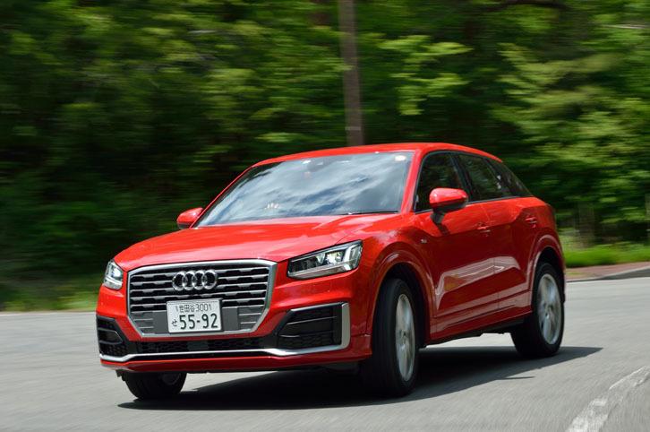 テスト車「ファーストエディション」を含め、現在日本に導入されている「Q2」の駆動方式はFFのみ。海外では4WDモデルも設定されている。