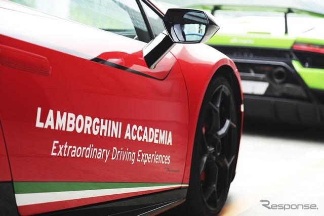 ランボルギーニ ウラカン ペルフォマンテ 富士スピードウェイ試乗(ランボルギーニ アカデミア)