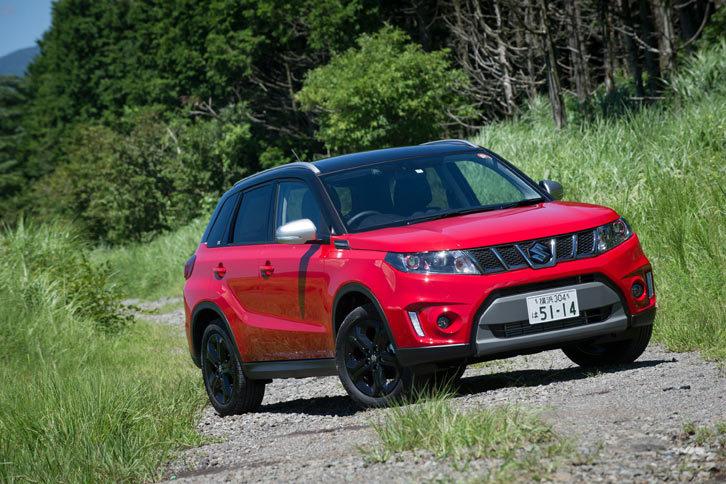 世界的に成長している小型SUV市場の一翼を担うモデルとして、スズキのグローバル戦略を背負う「エスクード」。海外では「ビターラ」の名で販売されている。