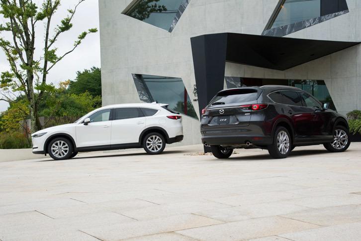 「CX-8」の発売は2017年12月14日の予定。価格は319万6800円から419万0400円となっている。