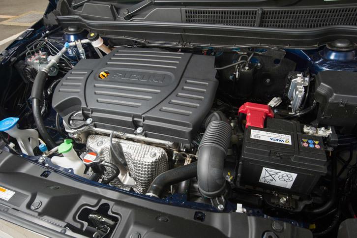 パワープラントは自然吸気の1.6リッター直4ガソリンエンジンで、117psの最高出力と151Nmの最大トルクを発生する。