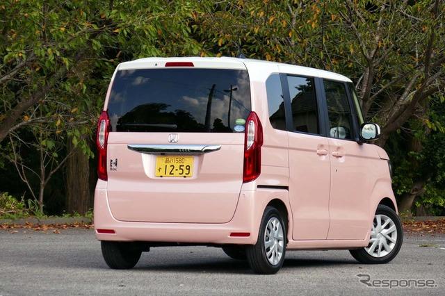 N-BOX G・EX ターボ Honda SENSING
