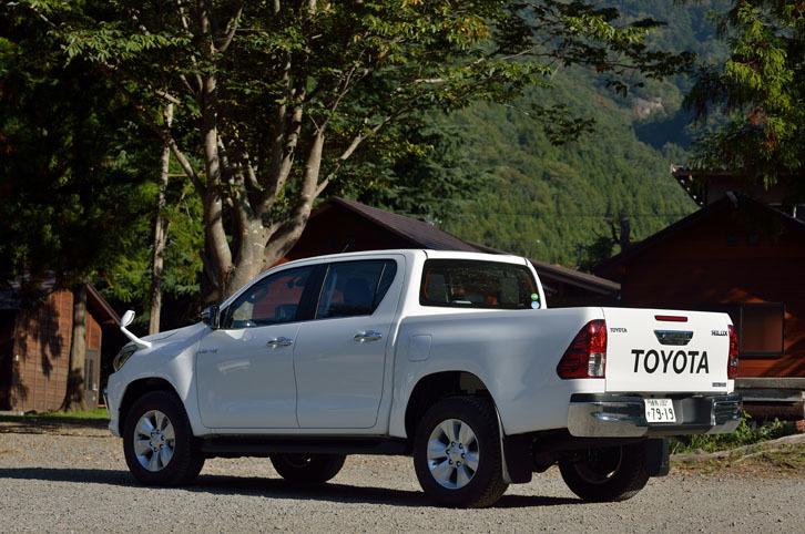 2017年9月に国内販売がスタートした、8代目「トヨタ・ハイラックス」。日本仕様車はタイで生産されている。