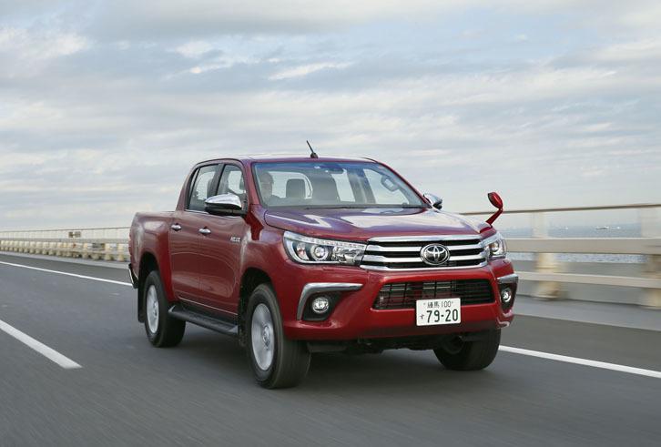 【試乗記】トヨタ・ハイラックスZ(4WD/6AT)
