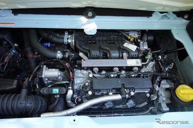 0.9リットルエンジン