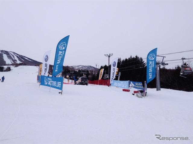 安比高原スキー場でのゲレンデタクシー