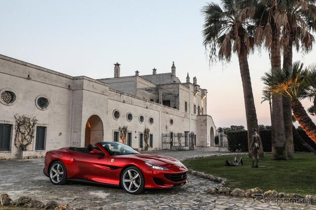フェラーリ ポルトフィーノ