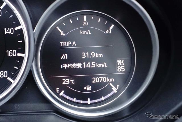 気筒休止ガソリンの燃費計