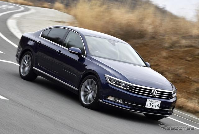 【VW パサート TDI 試乗】使いやすいけど、パワフルモデルの登場に期待!…竹岡圭