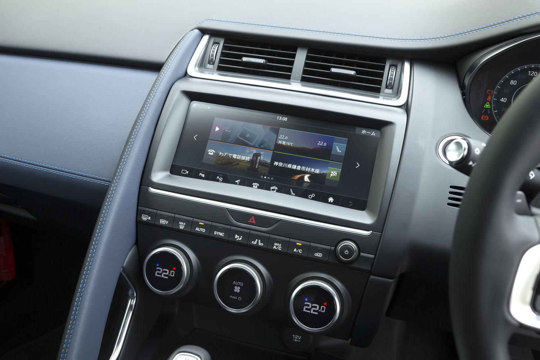 センターコンソールの上部には、10.2インチのタッチスクリーンがレイアウトされる。カーナビを含むインフォテインメントシステム「InControl Touch Pro」は全車標準装備となる。