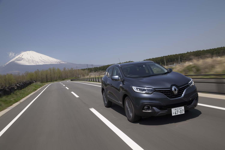 日本では2018年4月に正式デビューを果たした「ルノー・カジャー」。車両本体価格は347万5280円。