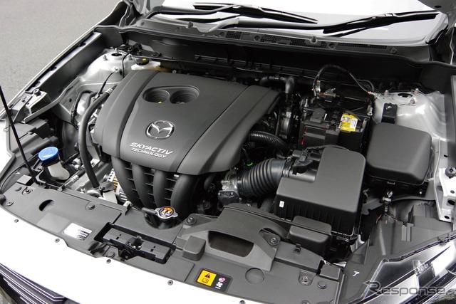 マツダ CX-3 改良新型のガソリンエンジン「SKYACTIV-G 2.0」
