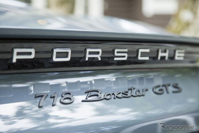 ポルシェ 718ボクスター GTS