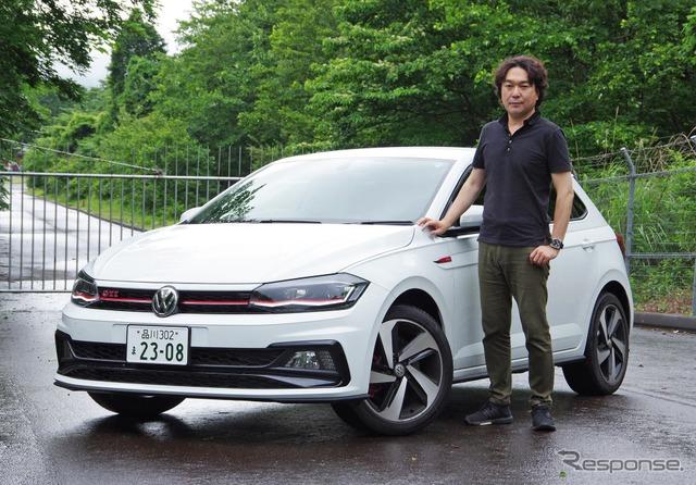 VW ポロGTI 新型と島下泰久氏