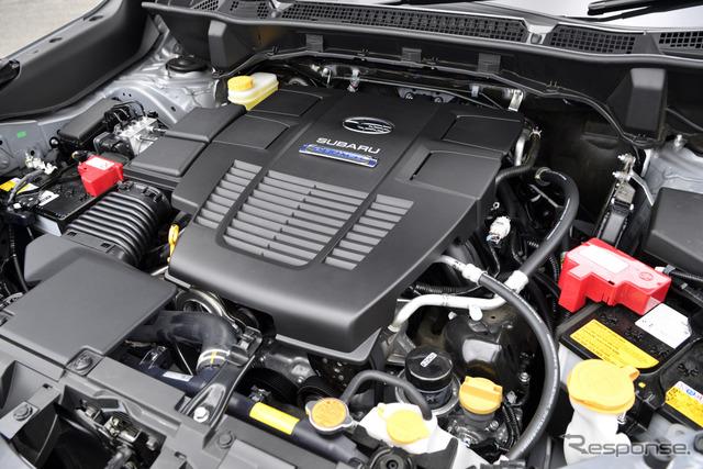 2.0リットルエンジン