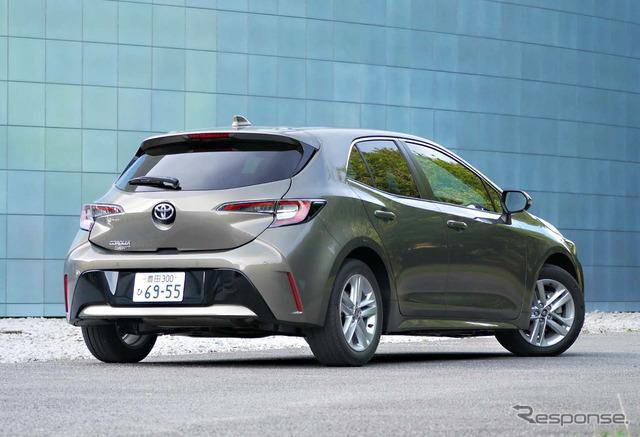 トヨタ カローラスポーツ 1.2ターボ