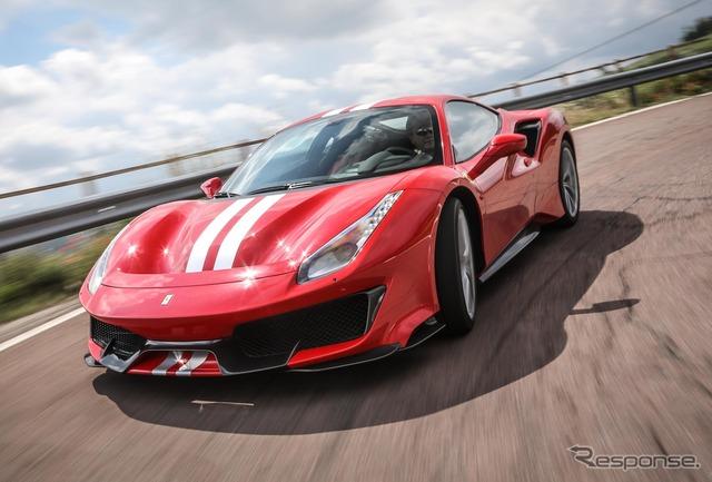 【フェラーリ 488ピスタ 海外試乗】史上最高のシリーズ生産ミドシップロードカーだ…西川淳