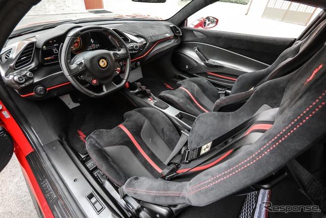 フェラーリ 488ピスタ
