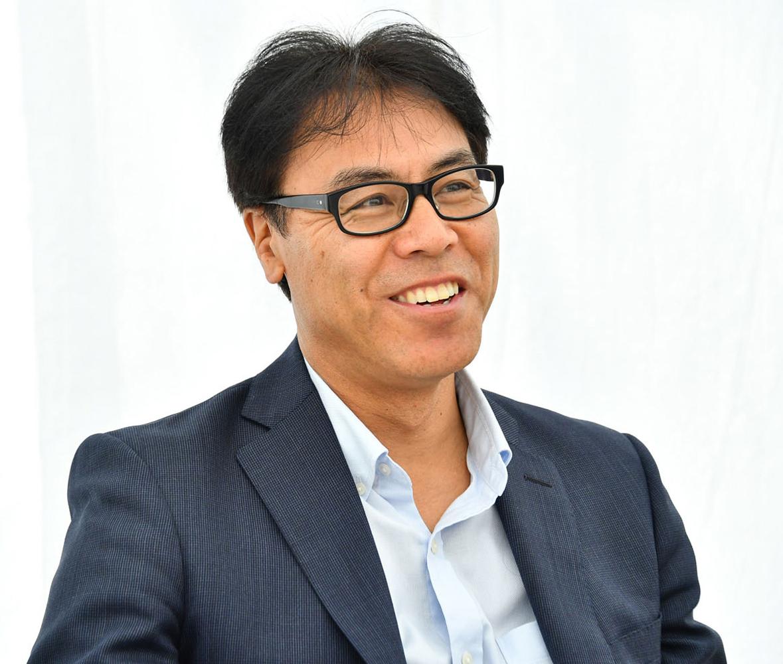 これまで一貫してFR車の開発に携わってきた秋山さん。走りのよさについては、強いこだわりがあるという。