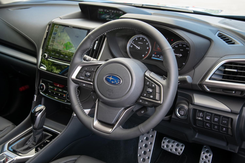 最新のスバル車ではおなじみの運転支援システム「アイサイト」は全車に標準装備となる。