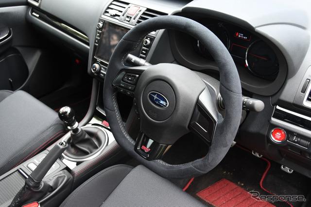 スバル WRX STI TYPE RA-R STIパフォーマンスパーツ装着車