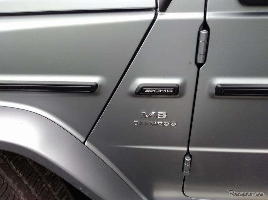 メルセデスベンツ Gクラス 新型(AMG G63)