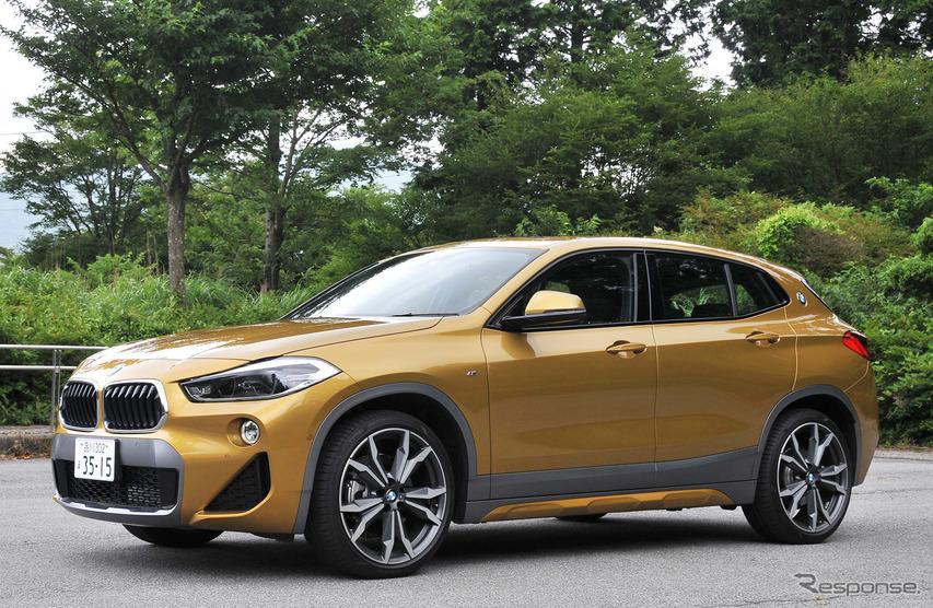 【BMW X2 試乗】ライバル多き戦場、決め手はシャープな走り…諸星陽一