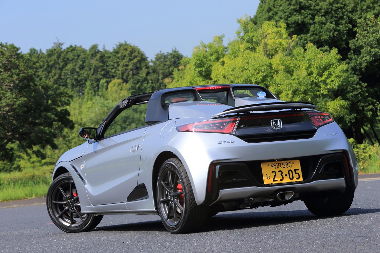 コンプリートカー「ホンダS660モデューロX」は、2018年5月にデビュー。同年7月に販売がスタートした。