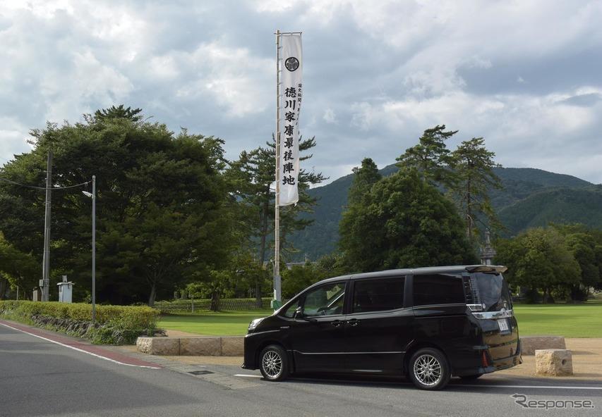 関ヶ原、徳川陣地にて。