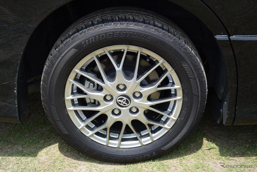 ブリジストン「トランザT001」タイヤ+16インチ鍛造ホイール。