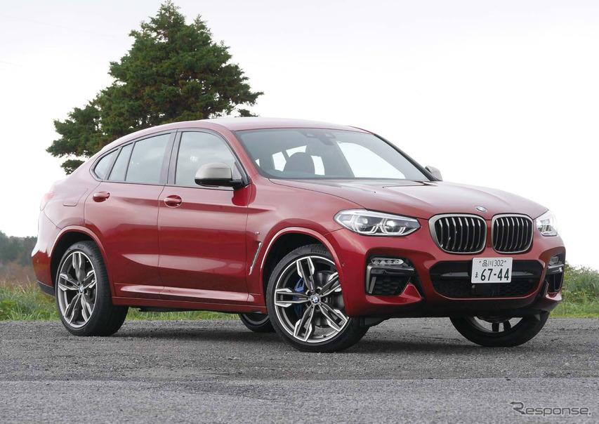 【BMW X4 新型試乗】ひさびさに豪快なBMW「直6」を堪能した…中村孝仁