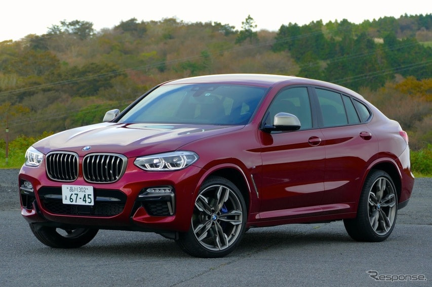 【BMW X4 新型試乗】X3よりもストレートにスポーティな味わい…島崎七生人