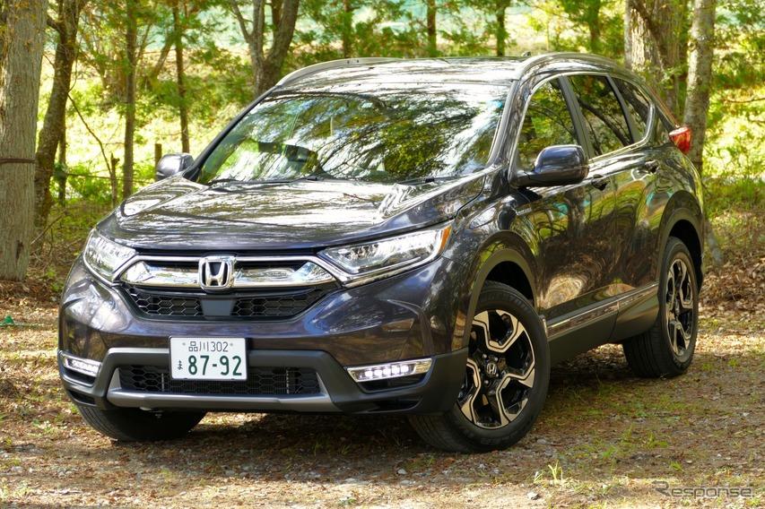 【ホンダ CR-V 新型試乗】ハイブリッド4WDはシリーズきっての快走車…島崎七生人