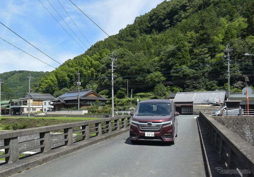 九州北部の英彦山に向かう途中。