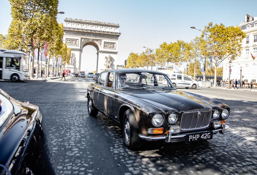 【ジャガー XJ】初代の血脈は受け継がれたのか? 50年の歴史を辿り、いざパリへ