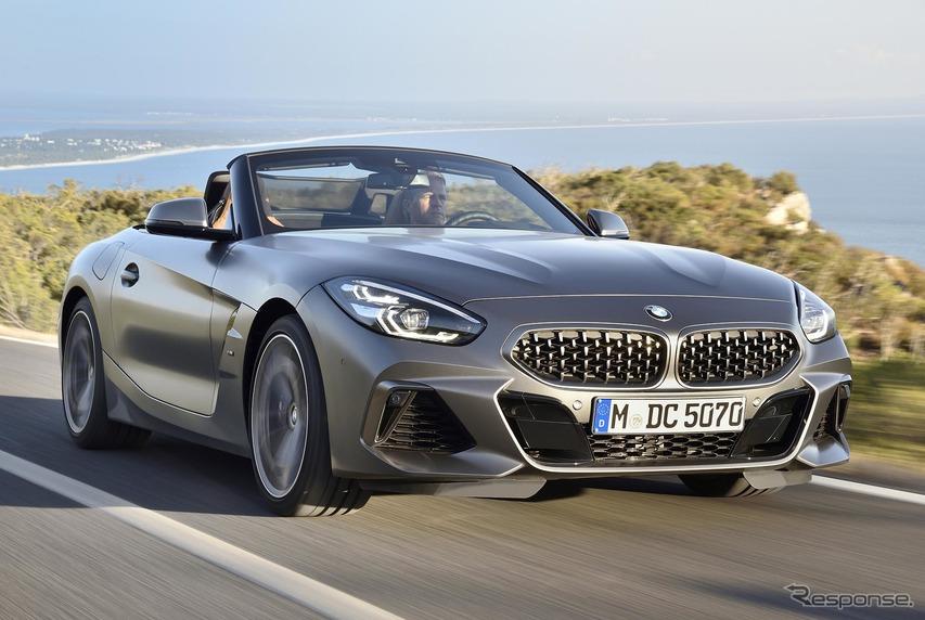 【BMW Z4 新型試乗】「ライバルはボクスター」が意味するもの…西川淳