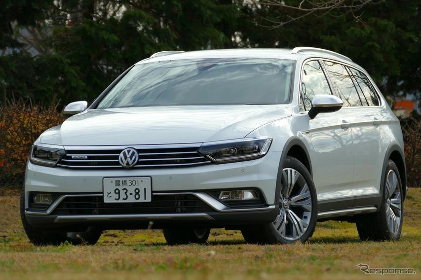 【VW パサート オールトラック 試乗】プレーンで実用的なオールラウンダー…島崎七生人