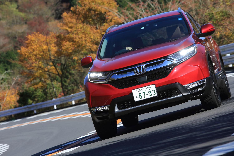 【試乗記】ホンダCR-VハイブリッドEX・マスターピース(4WD)