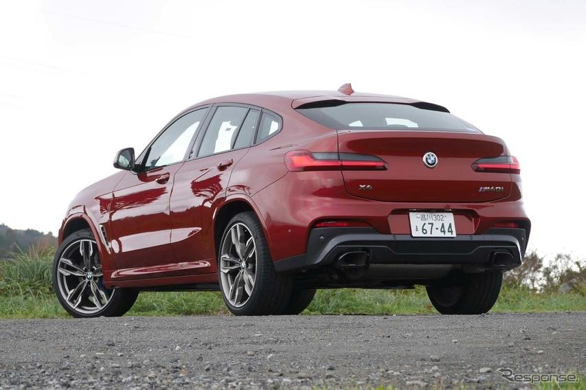 【BMW X4 新型試乗】一瞬でこんなに気持ちを熱くする音はない…岩貞るみこ